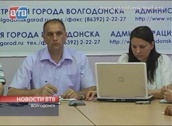 В Волгодонске сели за парты члены ТИК