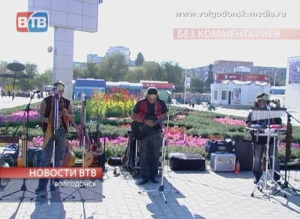 В Волгодонск заехала музыкальная группа «Караль»