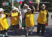 Жители Волгодонска вышли на разминку