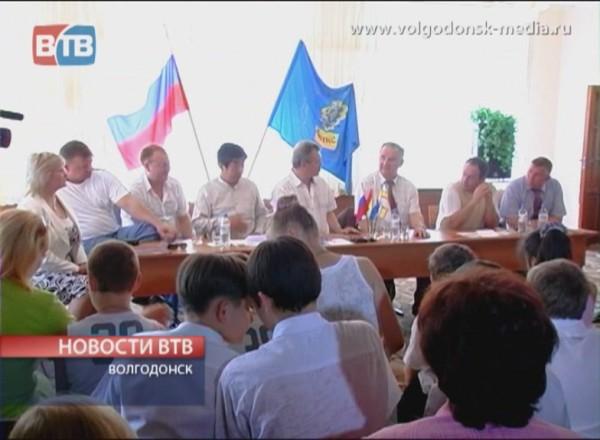 Космонавты в Волгодонске