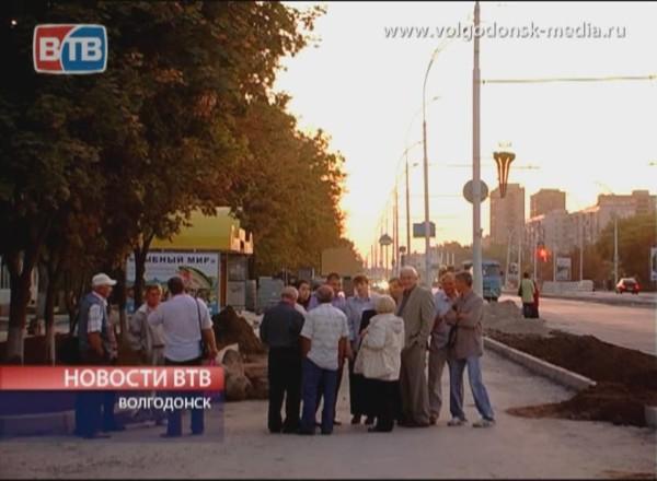 Люди недовольны результатами ремонта проспекта Строителей