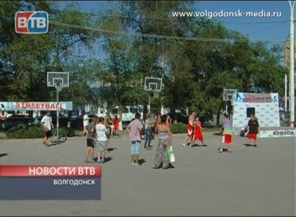 На Комсомольской площади прошел спортивный фестиваль
