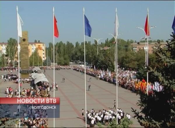Парад 9 мая в Волгодонске