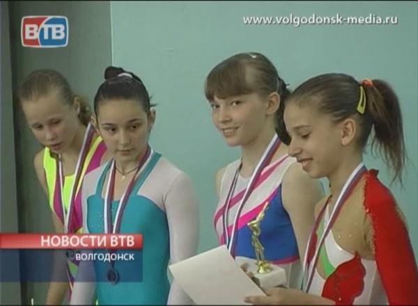 Первенство Волгодонска по спортивной гимнастике