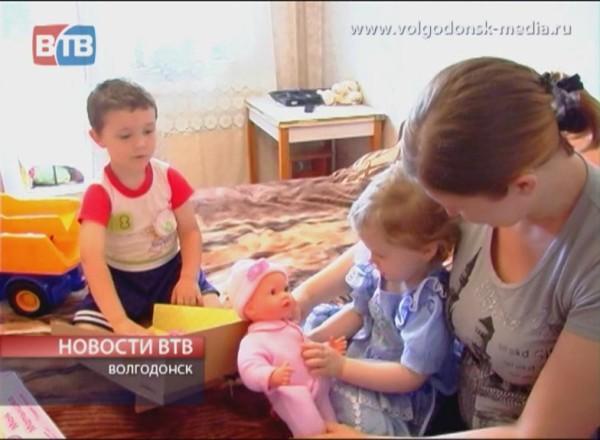 Помощь семье Хомутовых