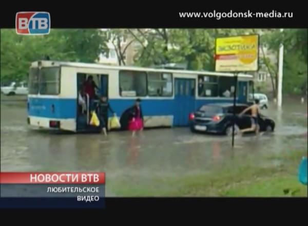 Разгул стихии в Волгодонске