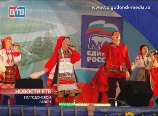 Станица Романовская отметила 398-летие