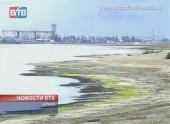 Цимлянское водохранилище высыхает