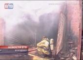 Пожар на складе детских игрушек