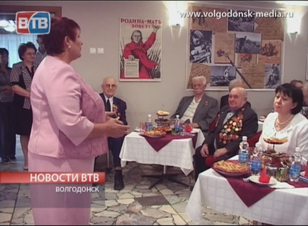 Ежегодная встреча с участниками великой отечественной войны