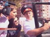 Полицейские выявляют нарушителей по тонировке автомобилей