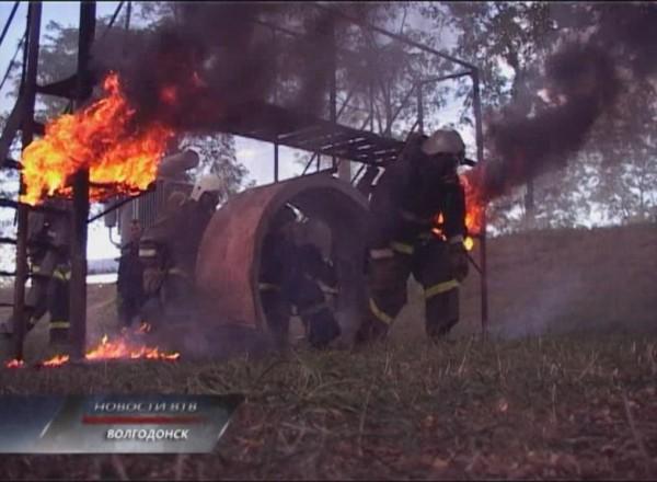 Волгодонский учебный центр федеральной противопожарной службы распахнул двери для будущих спасателей