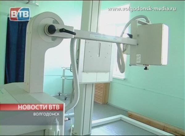 В Волгодонском роддоме появились аппараты международного стандарта