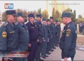 Широкомасштабные учения огнеборцев в Волгодонске