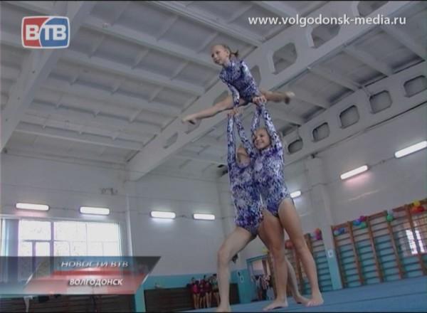 Областные соревнования по спортивной акробатике