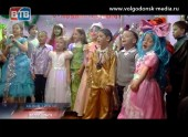 Дети 6 микрорайона встречали Деда Мороза