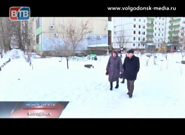 Петр Горчанюк объезжает микрорайоны Волгодонска