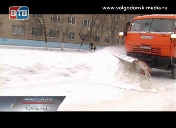 Московские журналисты считают, что вВолгодонске лучше всего борются соснегом