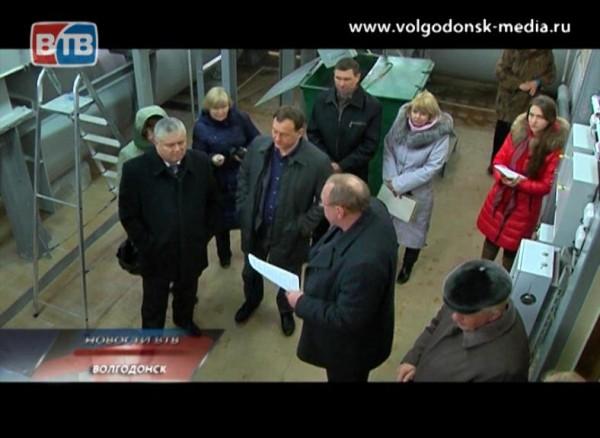 Депутатская комиссия посетила волгодонской водоканал