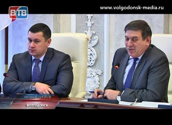 Противоречивые городские тенденции сегодня обсуждали в Администрации Волгодонска