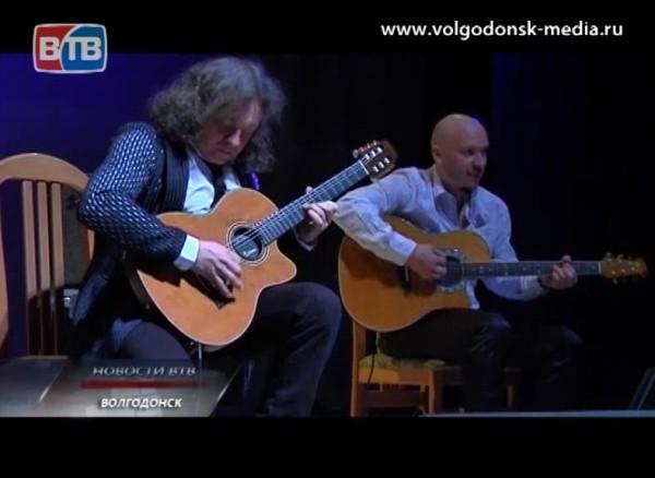 Волгодонск посетил гитарист-виртуоз Виктор Зинчук