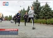 В Волгодонске состоитсятрадиционная легкоатлетическая эстафета