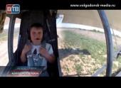 Мечта Ильи Крючкова стать летчиком сбылась