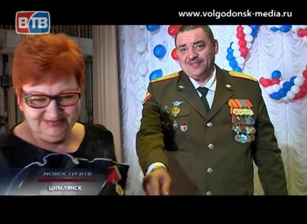Отдел военного комиссариата Волгодонского иЦимлянского районов отмечает 75-летний юбилей