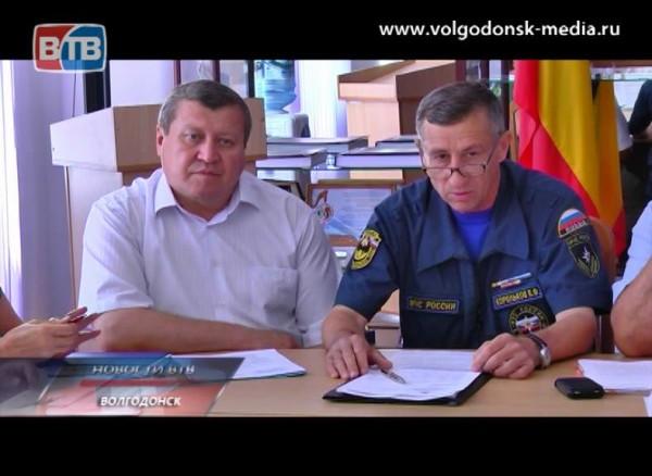 Депутатская комиссия обсудила состояние противопожарного водоснабжения натерритории Волгодонска