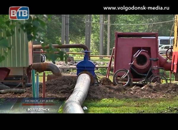 Волгодонск снова проведет неделю без горячей воды