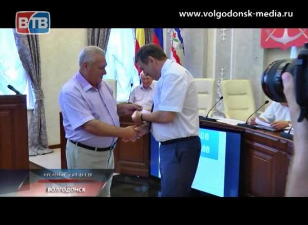 Волгодонские чиновники идепутаты получили юбилейные медали областного профсоюза работников культуры