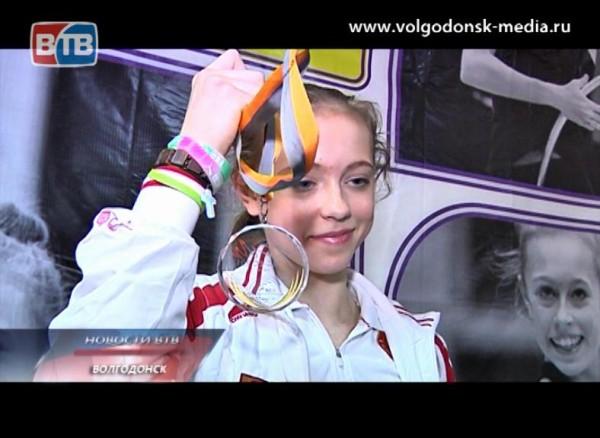 Волгодонская гимнастка впервые стала чемпионкой Европы