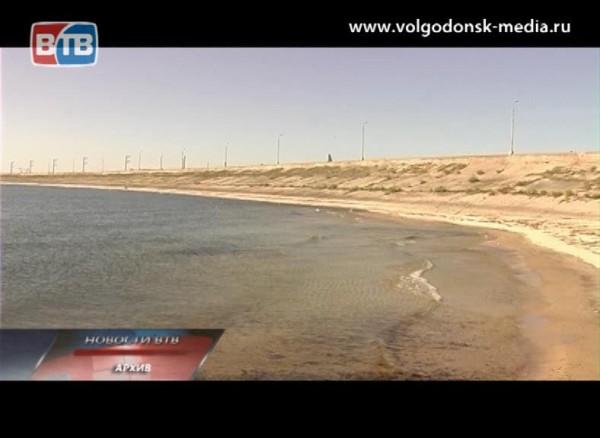 Состояние воды вЦимлянском водохранилище