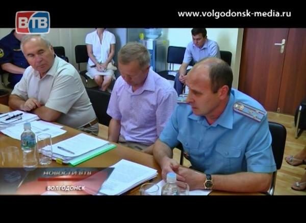 Депутаты Волгодонской Думы обсудили вопрос противопожарных мероприятий