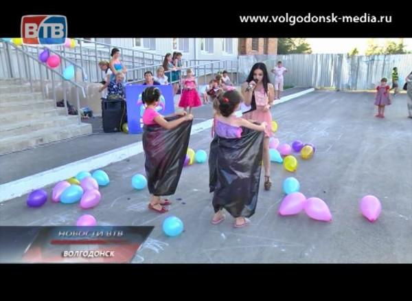 Депутат Волгодонской городской Думы устроил для жителей своего микрорайона большой детский праздник