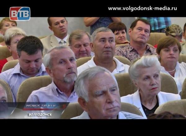 Мэр провел торжественный прием всвязи сгодовщиной содня основания Волгодонска