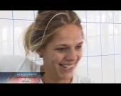 Юлия Ефимова стала первой в предварительном заплыве на Универсиаде