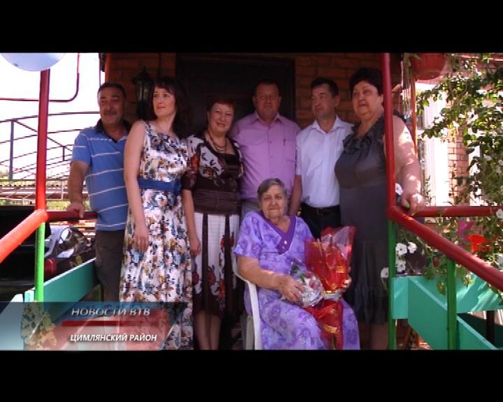 Мария Плетнева отмечает 90-летие