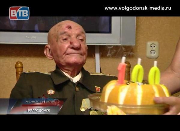 Сегодня житель нашего города, герой Великой Отечественной войны Андрей Говоров празднует свой вековой юбилей