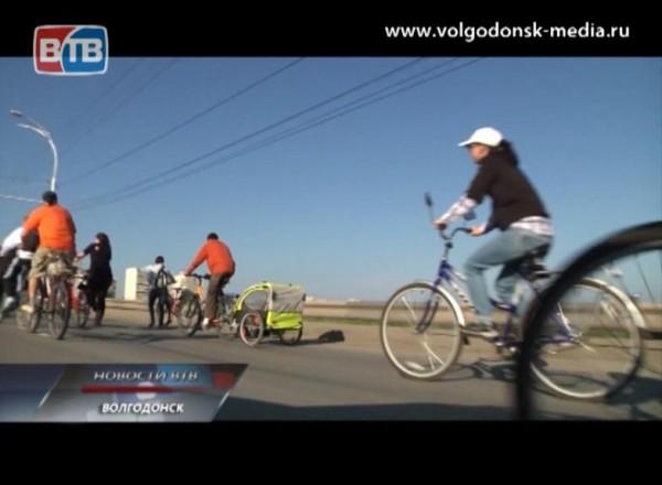 Завтра в Волгодонске пройдет велопробег