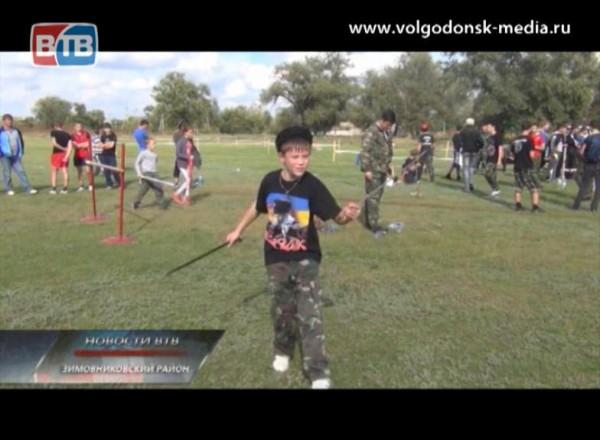 Встанице Кутейниковской Зимовниковского района прошли казачьи игры «Шермиции»