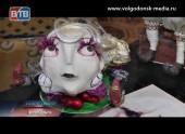 Волгодонская мастерица демонстрирует искусство создания поделок при помощи техники папье-маше