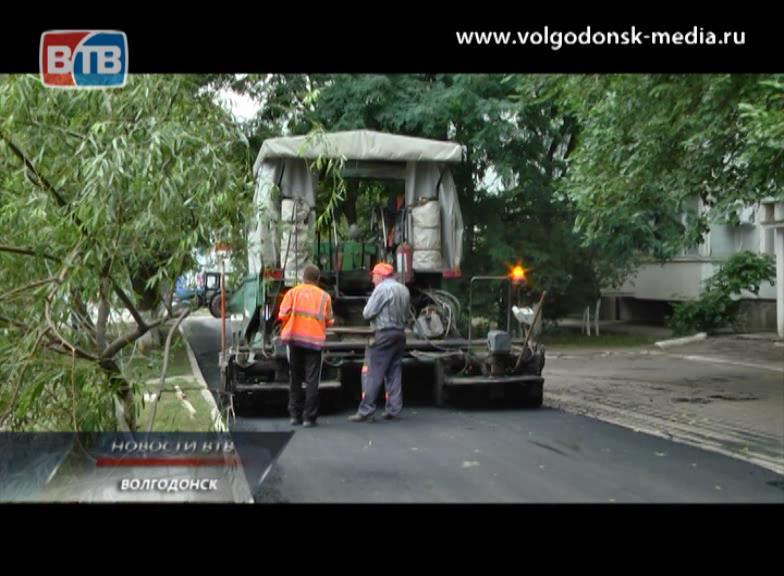 В 20 микрорайоне заканчиваются работы по ремонту внутриквартальных дорог