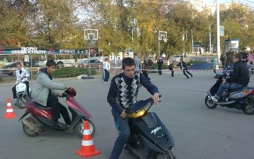 В Волгодонске состоятся соревнования среди скутеристов