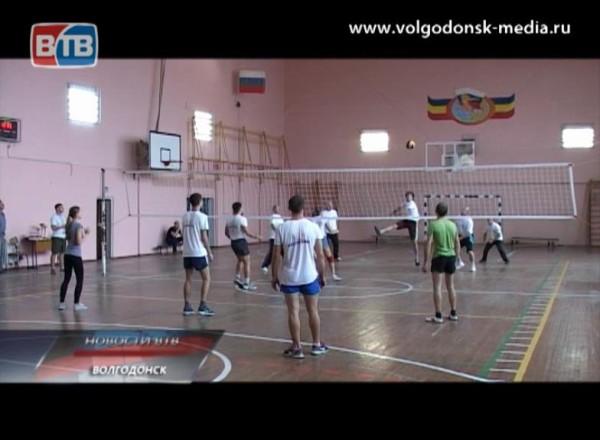 Средства массовой информации Волгодонска сошлись вспортивном поединке по волейболу
