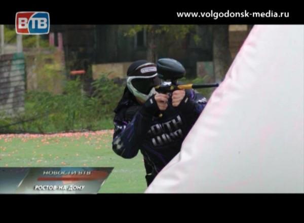 ВДонской столице прошел третий этап Кубка России по пейнтболу