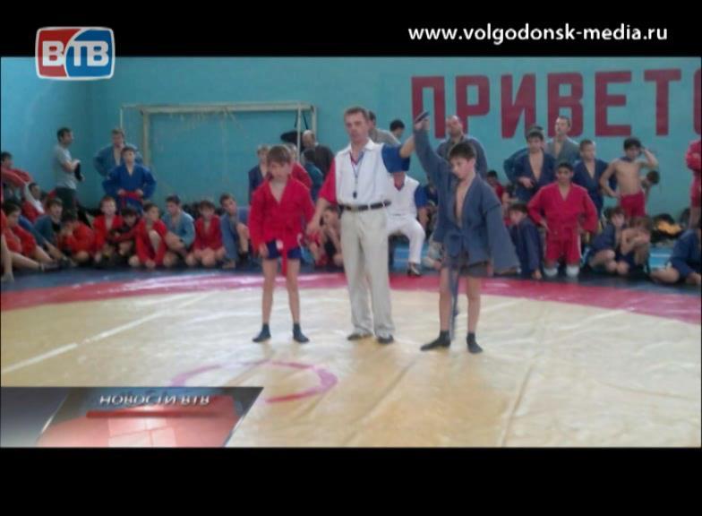 ВКаменск-Шахтинске прошел турнир по самбо