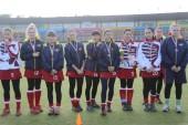 В Волгодонске состоялось награждение победителей Чемпионата России среди женских команд по хоккею натраве