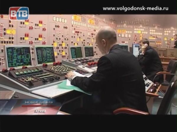 Первый энергоблок Ростовской АЭС включен в сеть после проведения плановых ремонтных работ