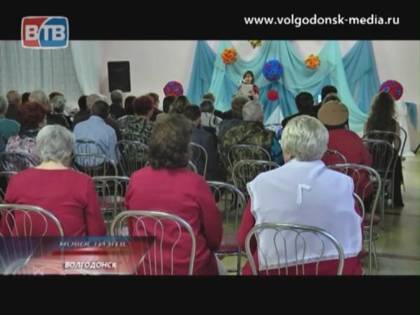 В Волгодонске прошел праздничный концерт, посвященный международному дню слепых